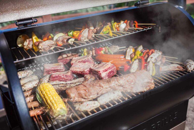 barbecue granules cuisson