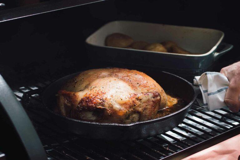 cuisson barbecue granules