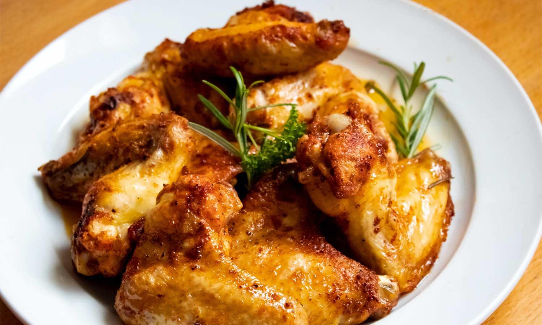 Ailerons de poulet à l'indienne